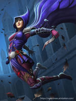 Mercenary lady by RenMoraes