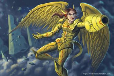 Strike Angel by RenMoraes