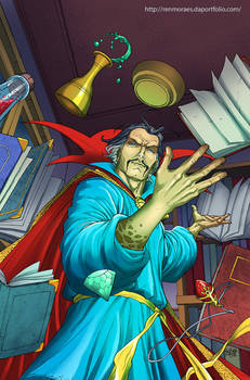 Colorization - Doctor Strange
