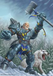 Winter Warrior by RenMoraes