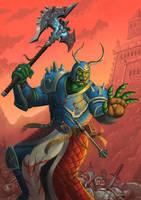 Orc Barbarian by RenMoraes
