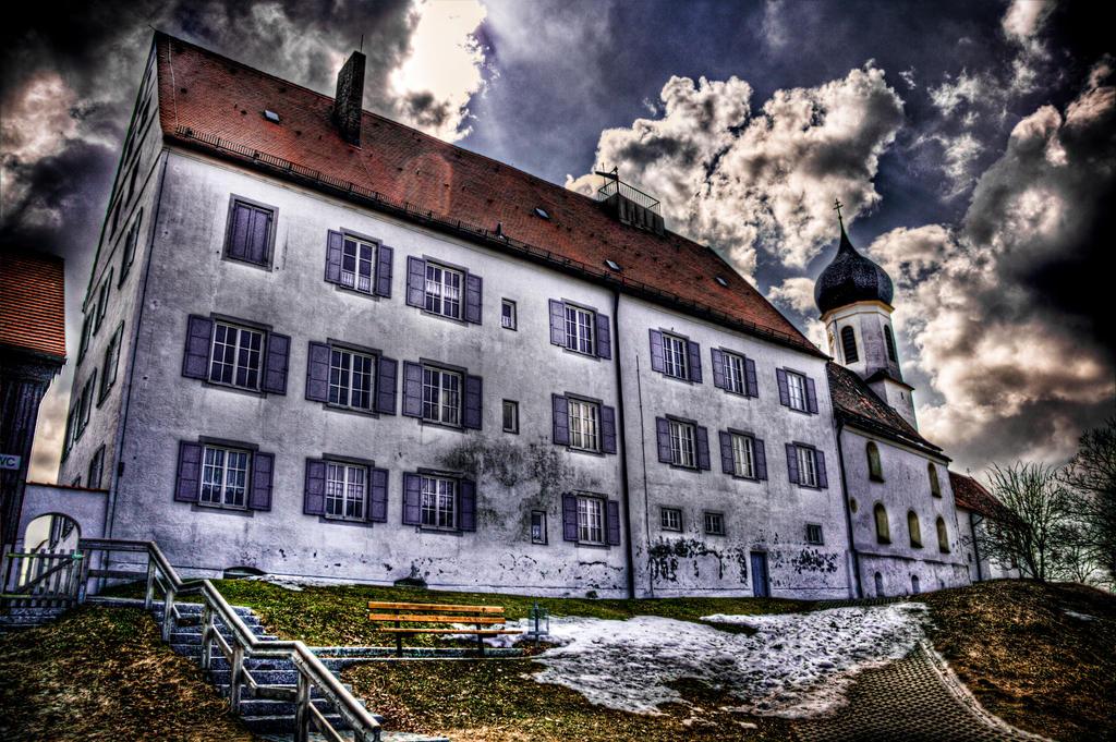 Peissenberg abbey by Ditze