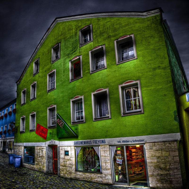 Green House Effect by Ditze