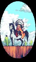 NativeAmericanBoy by StavaEY
