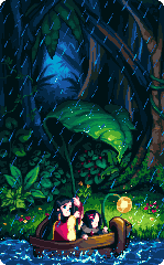Rainy Jungle by StavaEY