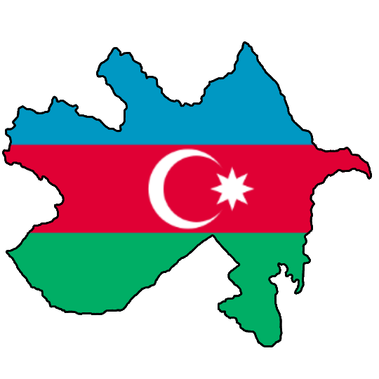 Flag Map Of Azerbaijan Democratic Republic By Stiivit On Deviantart