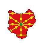 Flag map of Kingdom of Navarre