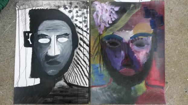 Self-Portrait's by Mateusz-Akmon