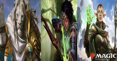 Magic the Gathering: Planeswalkers Wallpaper by sonicrocker