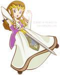 Princess Zelda CG