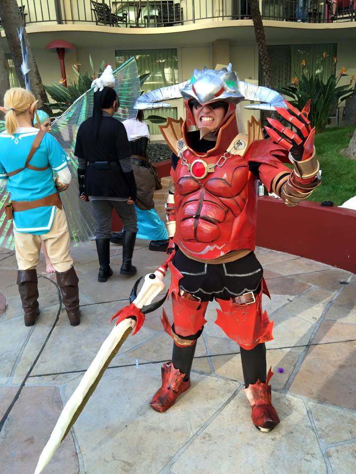 Hyrule Warriors Volga Cosplay ALA 2015! by Mastershambler