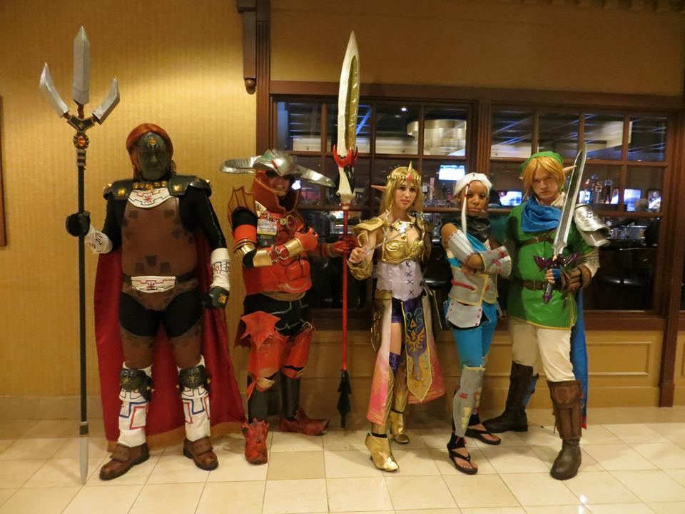 ALA 2015 Hyrule Warriors Impromptu Group! by Mastershambler