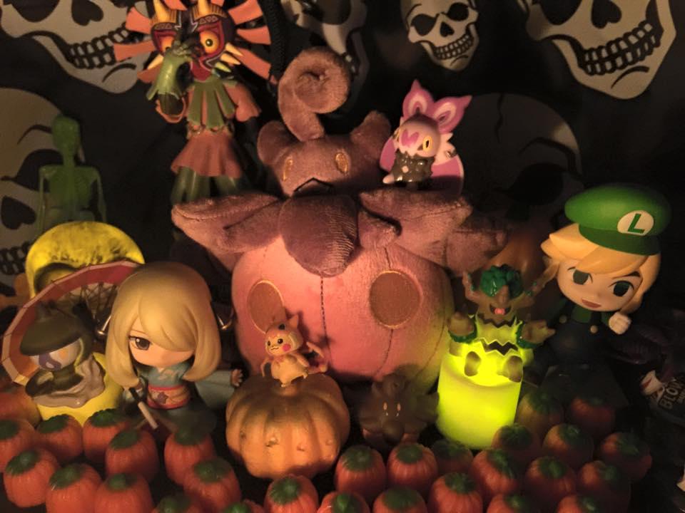 A Nintendo Halloween Pumpkin Harvest! by Mastershambler