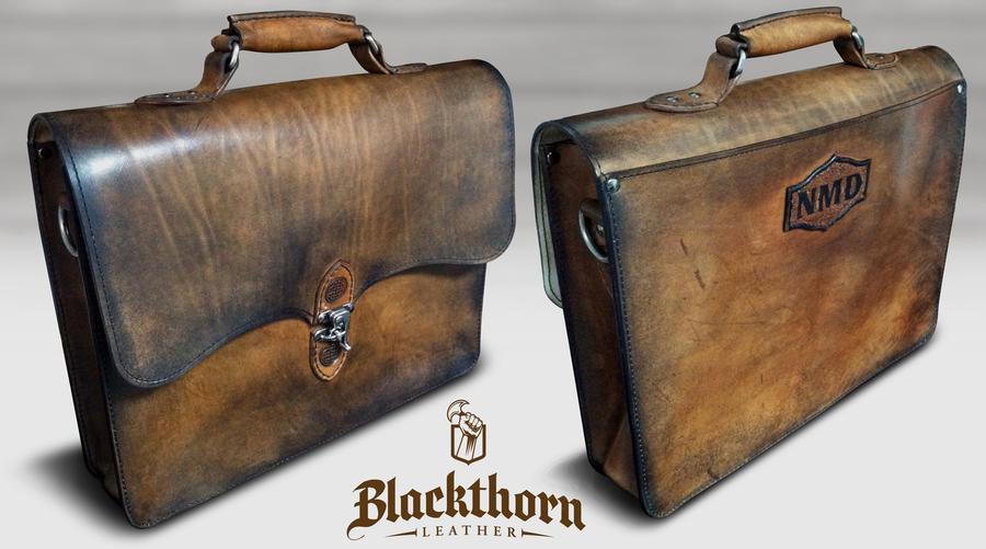 NMD MacBook Bag By Blackthornleather
