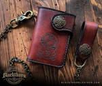 Clan MacLaren wallet by Blackthornleather