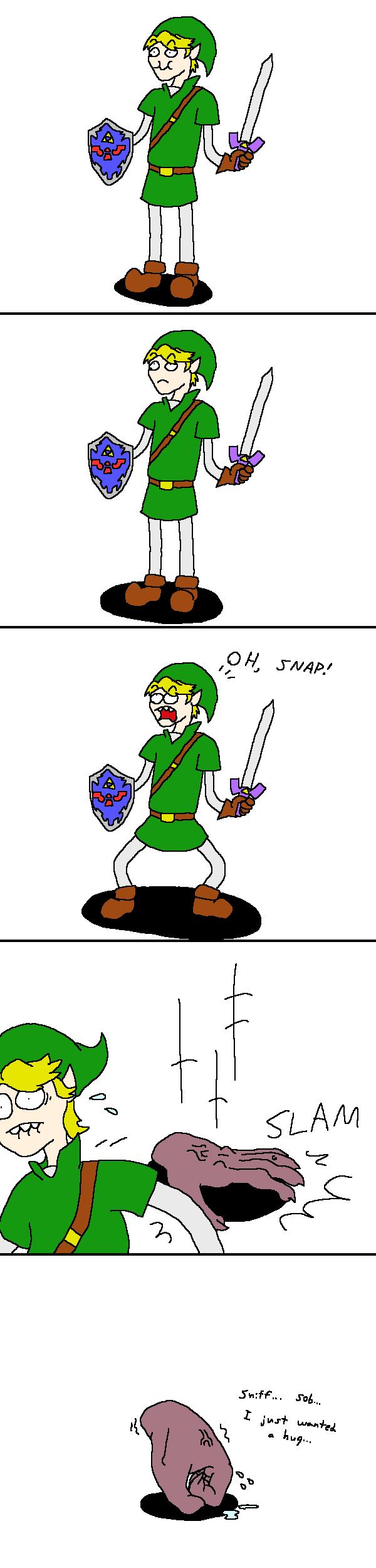 TLoZ: Wallmasters by doodlegarmander