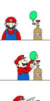Super Mario GALAXEEEEEEEEEEEEE by doodlegarmander