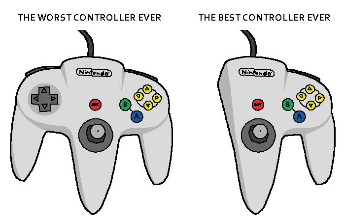 N64 Controller by doodlegarmander