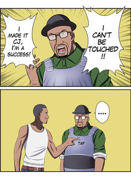GTA SA: Can't Be Touched