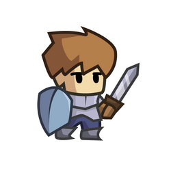Daily Art - Chibi Swordsman by PixlWalkr