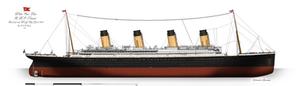 RMS Titanic: Profile. (1912)