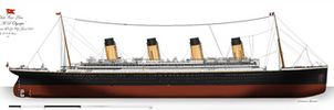 RMS Olympic: Profile. (1911) by alotef