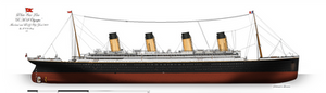 RMS Olympic: Profile. (1911)
