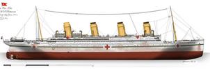 HMHS Britannic: Profile. (1915) by alotef
