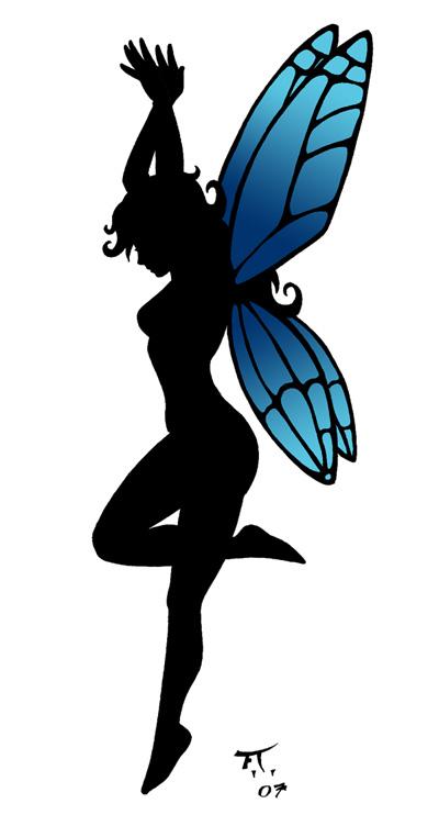 fairy tattoo design by psychocaptain on deviantart. Black Bedroom Furniture Sets. Home Design Ideas
