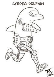 Cyborg Dolphin