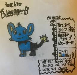 OC Bio - Bloowhoog by PikPikPokemon