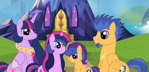 Twilight Sparkle Family Photo