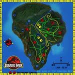 Isla Nublar Map Beta