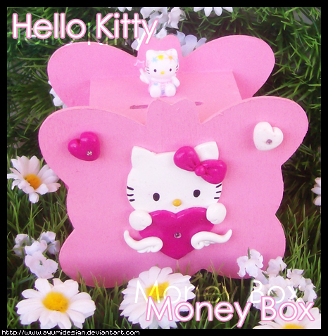 Hello Kitty Hand Painted Wall Letters