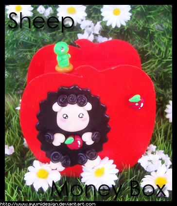 Black Sheep MoneyBox by AyumiDesign