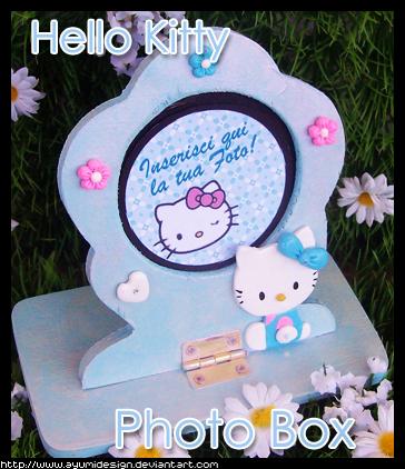 Hello Kitty PhotoBox - Blue by AyumiDesign