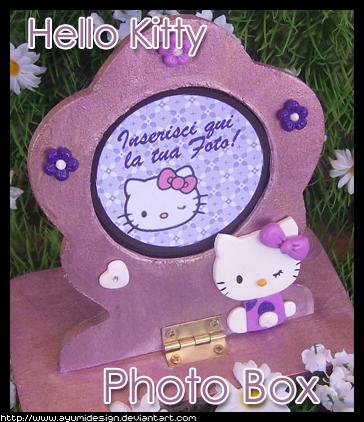 Hello Kitty Photobox - Violet by AyumiDesign