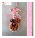 Pink Royal Waffel