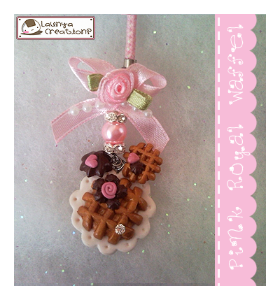 Pink Royal Waffel by AyumiDesign