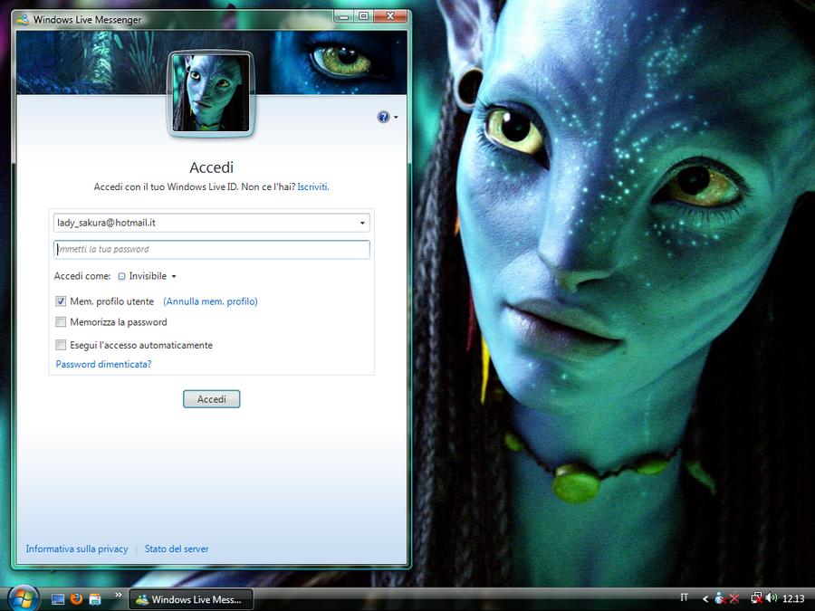 Sonya's Desktop Na'vi by AyumiDesign