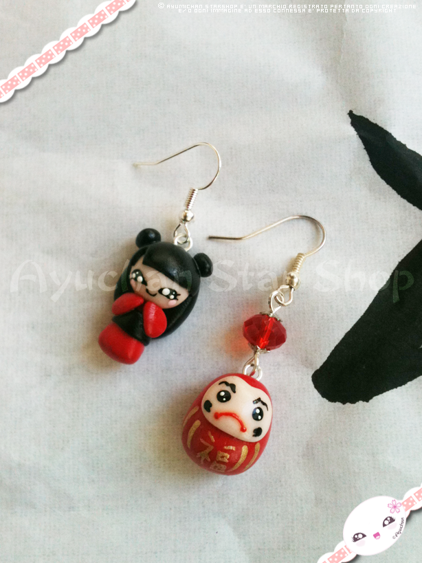 Ayuchan and Daruma by AyumiDesign