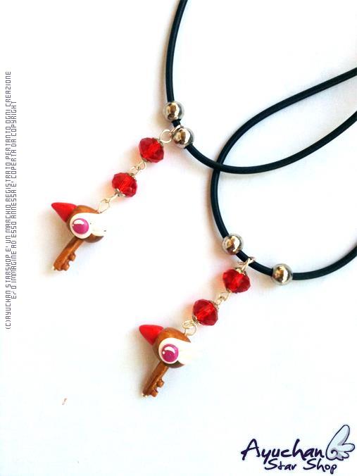 Card Captor Sakura Necklace by AyumiDesign