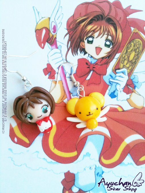 Card Captor Sakura - Kero + Saku by AyumiDesign