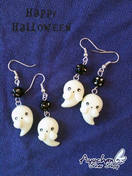Kawaii Little Ghost by AyumiDesign