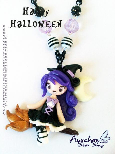 Purple Witch! by AyumiDesign