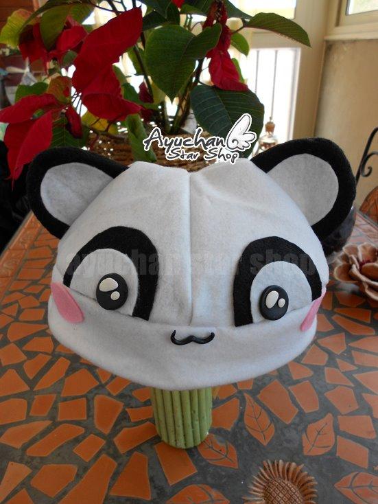 Panda Hat by AyumiDesign