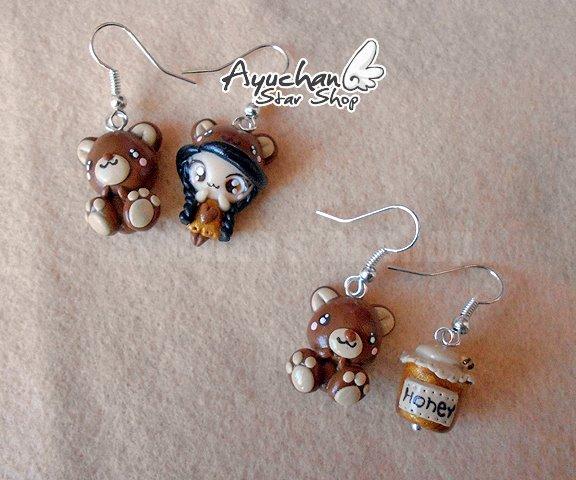 Cute indian earrings by AyumiDesign