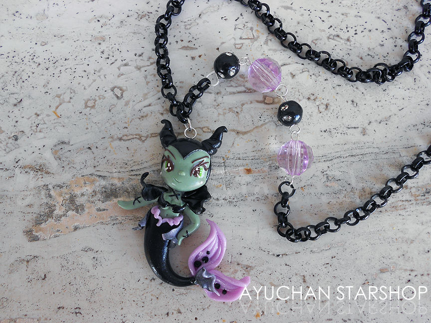 Maleficent Under the Sea by AyumiDesign
