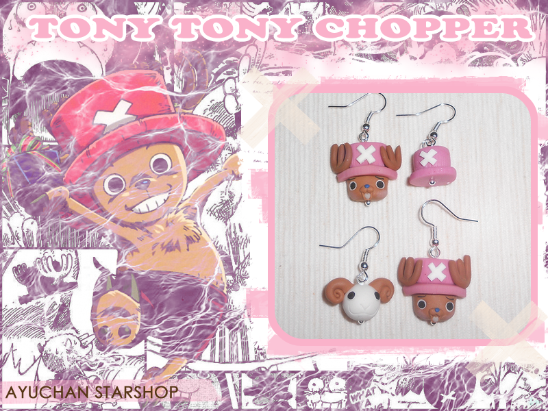 Chopper Earrings by AyumiDesign