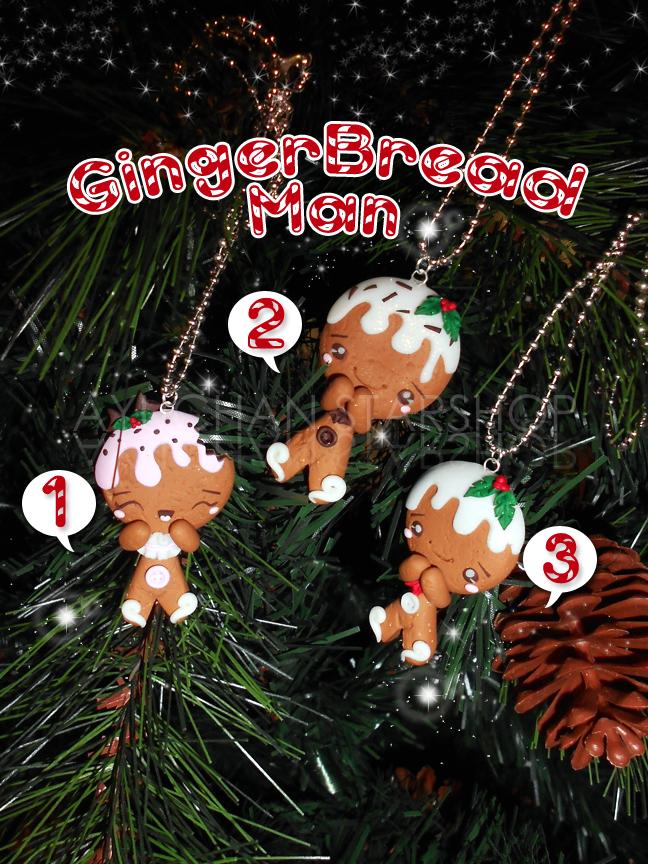XMas Gingerbread Man by AyumiDesign